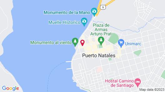 Factoria Patagonia - Hostel Map