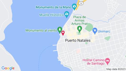 Noi Indigo Patagonia Map