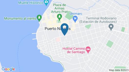 Cabañas Ultima Esperanza Map