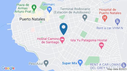 Trotamundos Patagonia Map