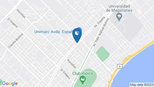 Hostal Rynaike Map