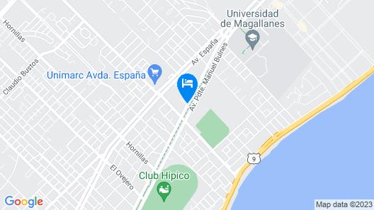 Kloketen-bulnes Map