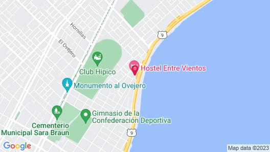 Hostel Entre Vientos Map