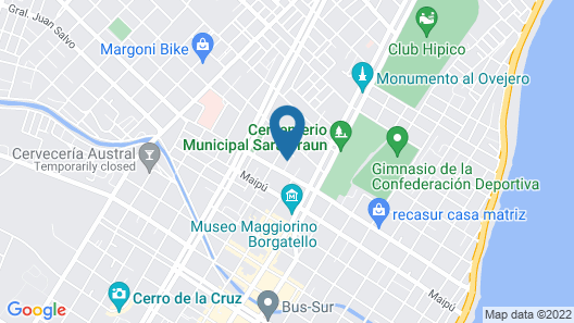 Hostal SK Map