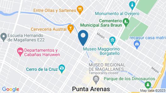 Apart Hotel Quillango Map