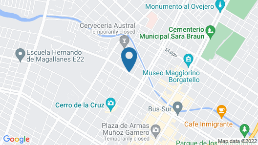 Hostal Puerta Roja Map