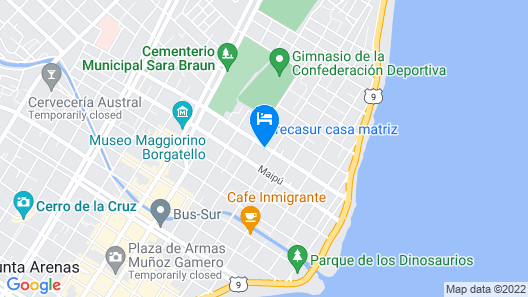 Hostal Parediso Map