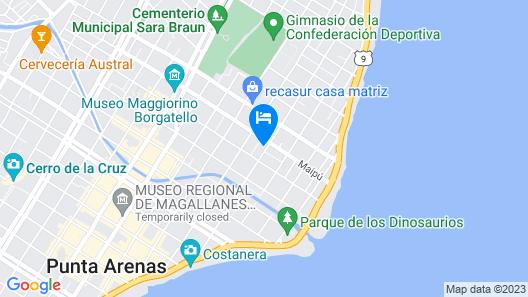 Karol Hostal B&B Map