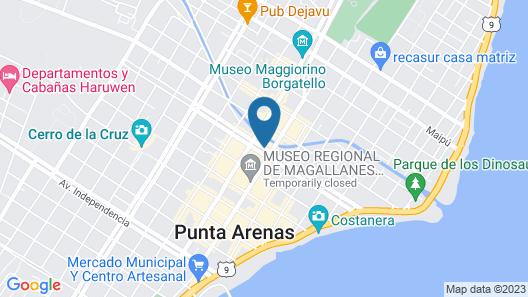 Best Western Hotel Finis Terrae Map