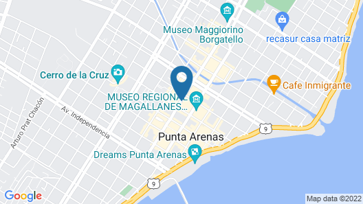 Hotel Jose Nogueira Map