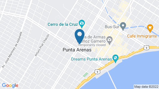 Hostal Balmaceda Map