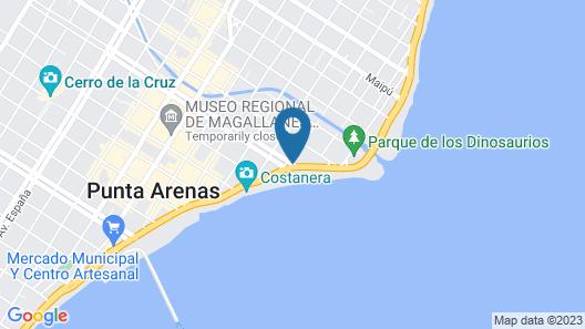 Diego De Almagro Punta Arenas Map