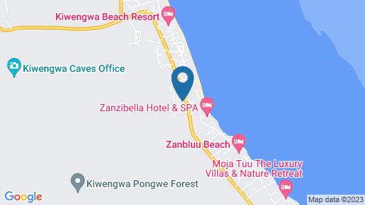 Marafiki Bungalows Map
