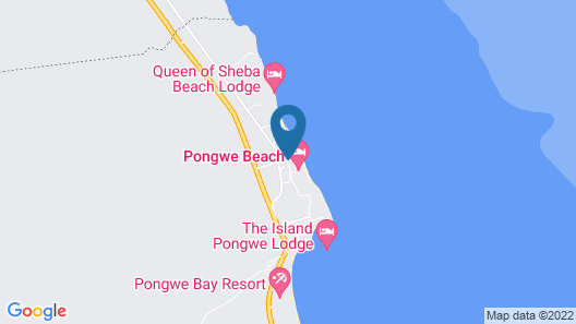 Tulia Zanzibar Unique Beach Resort Map