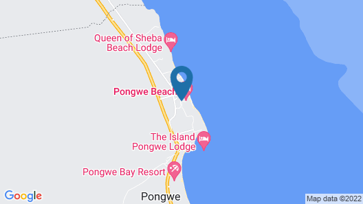 Pongwe Beach Hotel Map