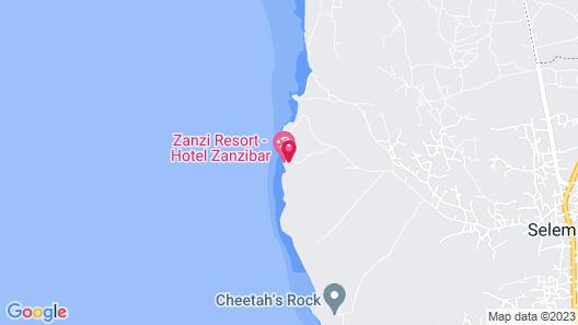 Zanzi Resort Map