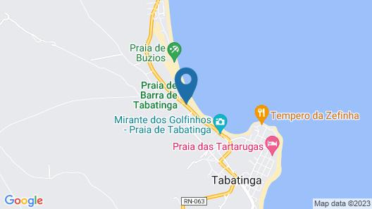 Casa de Praia Beira-mar Map