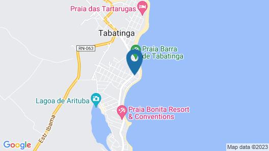 Casa de Temporada em Tabatinga Map