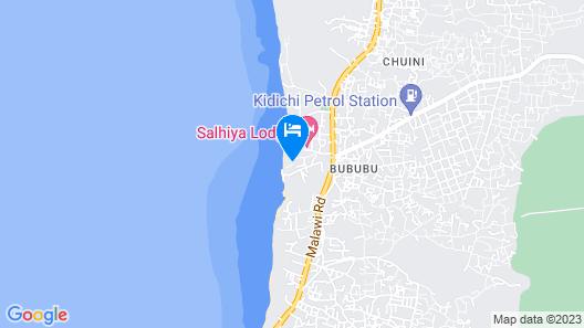 Imani Beach Villa Map