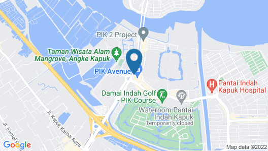 Swissôtel Jakarta PIK Avenue Map