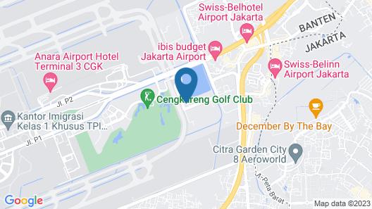 Bandara International Hotel managed by AccorHotels Map