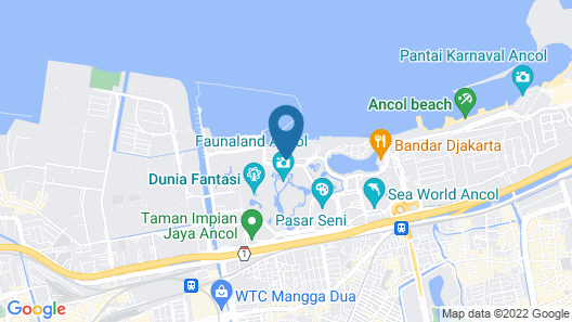 Mercure Convention Center Ancol Map