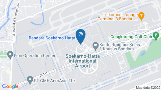 Jakarta Airport Hotel Managed by Topotels Map