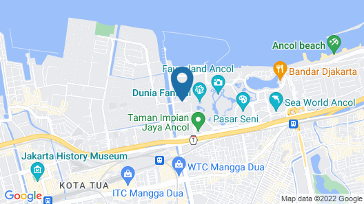 Discovery Ancol Map