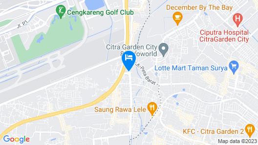 Amaris Hotel - Bandara Soekarno Hatta Map