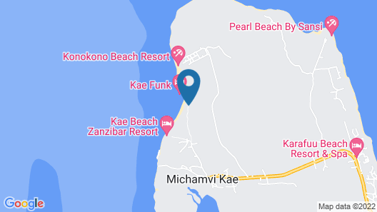 Kae Funk Sunset Bungalows Map