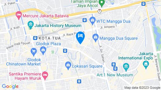 Best Western Mangga Dua Hotel and Residence Map