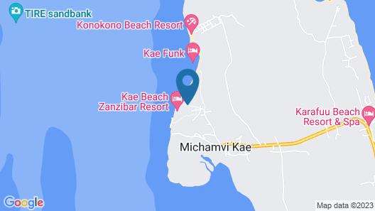 Michamvi Sunset Bay Map