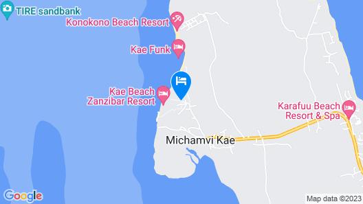 Sagando Bungalows Map