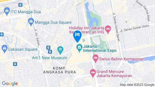 Holiday Inn Express Jakarta International Expo, an IHG Hotel Map