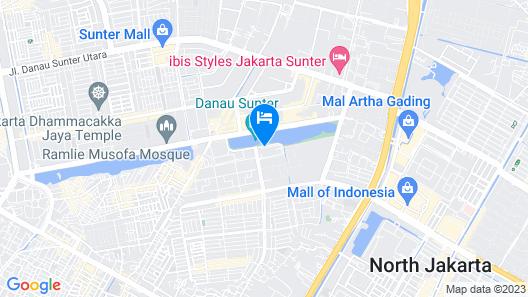 Sunlake Hotel Map