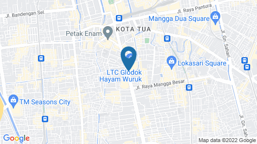 favehotel LTC Glodok Jakarta Map