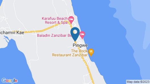 Le Mersenne Beach Map