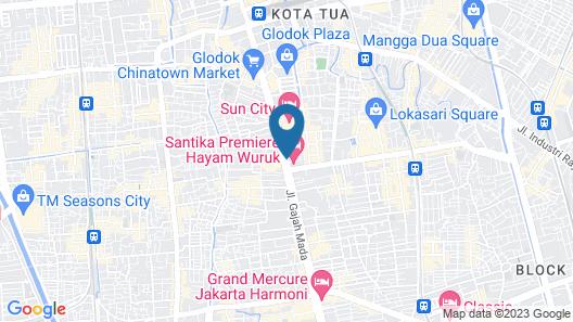 Mercure Jakarta Kota Map