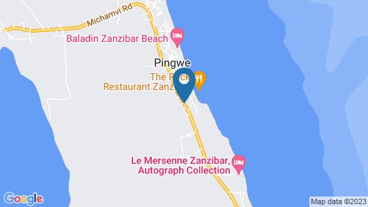 Upendo Beach Map