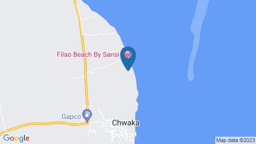 Maars Resort, Chwaka Map