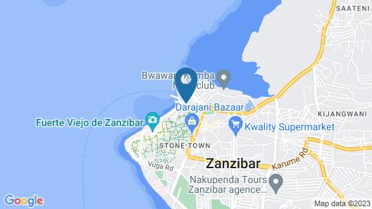 Best Western Plus Zanzibar Map