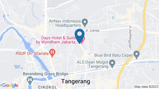 Days Hotel & Suites by Wyndham Jakarta Airport Map