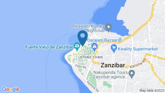 Kiponda B&B Map