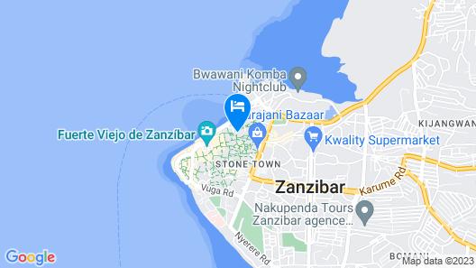 Zanzibar Palace Hotel Map