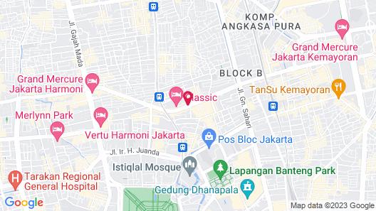 Classic Hotel Map