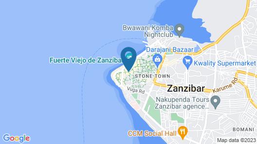 Zanzibar Hostel Map