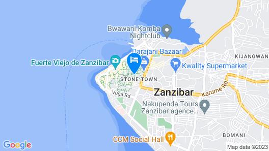 The Swahili House Map