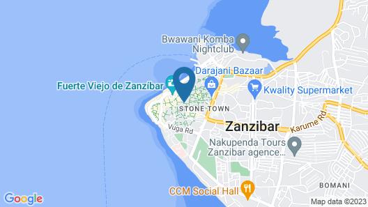 Antonio Garden Hotel Map