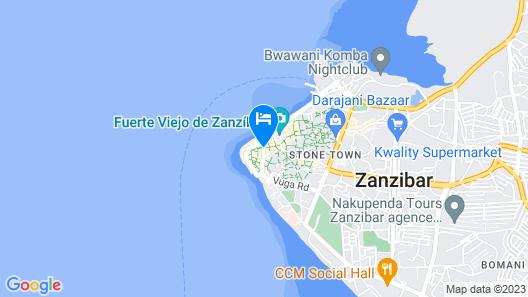 Tembo Palace Hotel Map