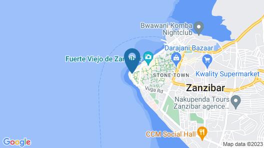 Park Hyatt Zanzibar Map